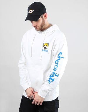 Chocolate x Sanrio Office Pullover Hoodie - White