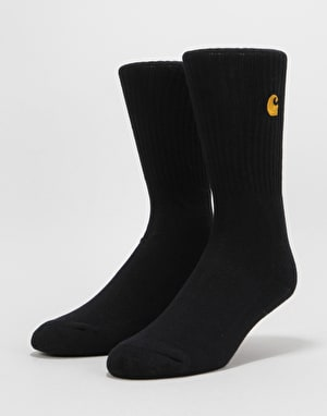 Carhartt Chase Socks - Black/Gold