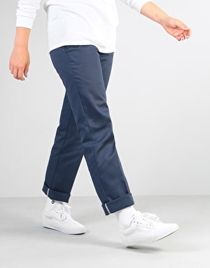 Dickies Womens 873 Slim Work Pant - Navy