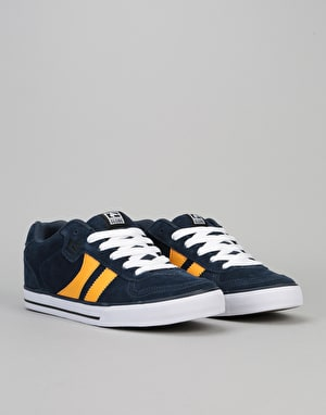 Globe Encore 2 Skate Shoes - Navy/Yellow