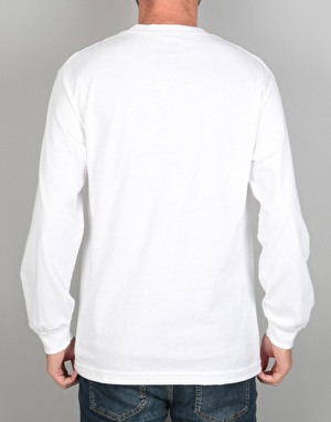 Theories Island Life L/S T-Shirt - White