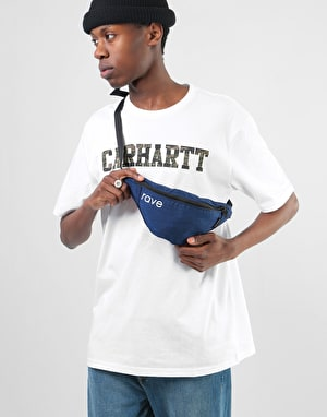 Rave Waist Pack - Navy/Pink