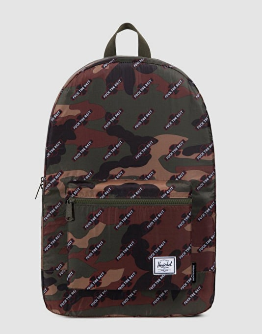 716d0f2cb4d1 Herschel Supply Co. x Independent Packable Daypack - Woodland Camo FTR