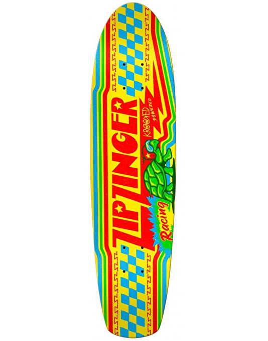 Krooked Zip Zinger Racing Skateboard Deck - 7.5""