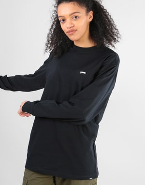 Vans Womens Skate Oversized L/S T-Shirt - Black