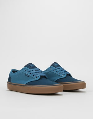 Vans Atwood Skate Shoes - (2-Tone) Blue