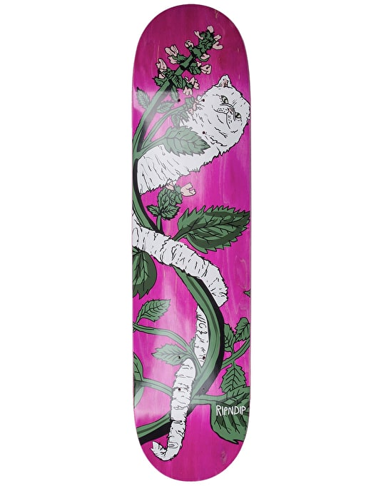 RIPNDIP Botanical Skateboard Deck - 8.5""