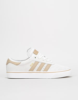 Adidas Adi-Ease Premiere Skate Shoes - Crystal White/Hemp/White