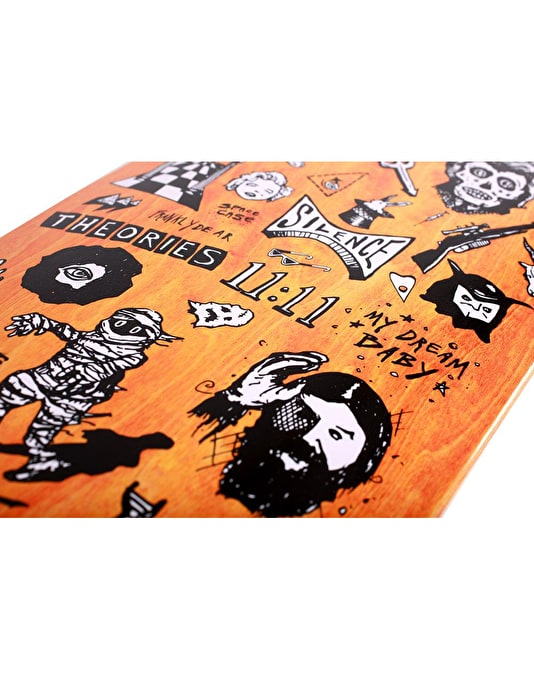 Theories Spooky From Now On Skateboard Deck - 8""