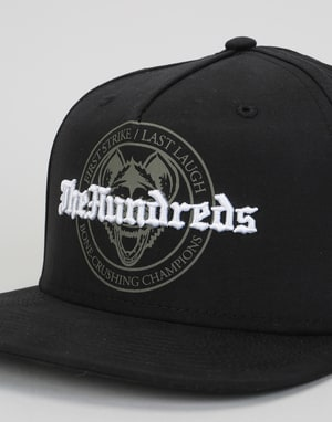 The Hundreds Strike Snapback Cap - Black