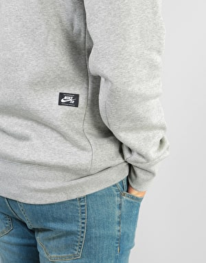 Nike SB Icon Essential Crew - Dk Grey Heather/Black