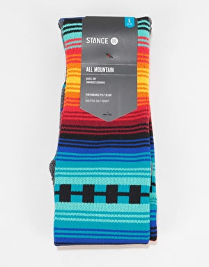 Stance Calamajue All Mountain Snowboard Socks - Blue