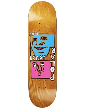 Polar Dane Self Portrait Skateboard Deck - 8.5