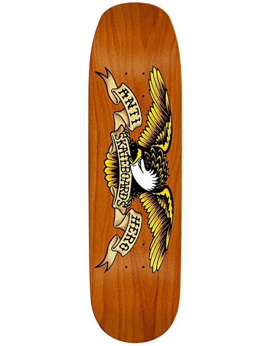 Anti Hero Shaped Eagle Skateboard Deck - 9.1""