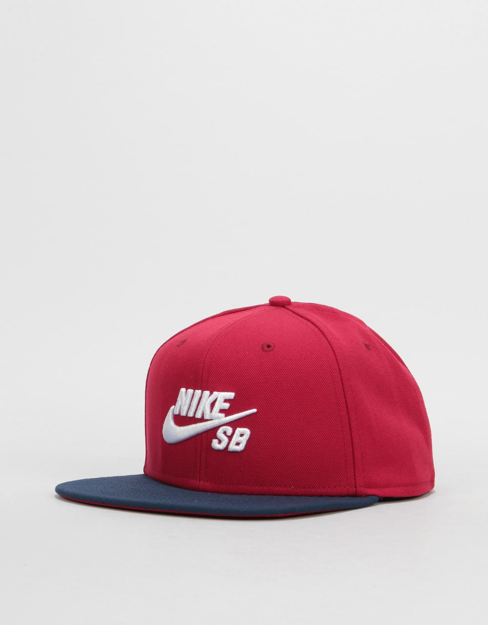 72f9e06b0fd Nike SB Icon Snapback Cap - Red Crush Obsidian White
