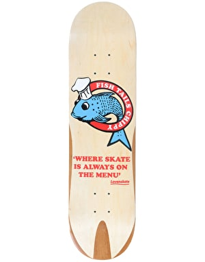Lovenskate Fish Tails Chippy Team Deck - 8.5
