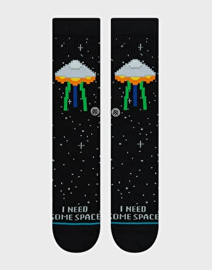 Stance I Need Some Space Classic Crew  Socks - Black