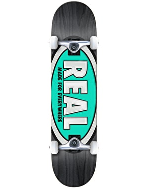 Real Team Ovals Complete Skateboard - 8