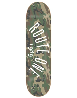 Route One Arch Logo Team Deck - 8.5