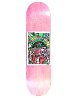Polar Boserio Earth Attack Skateboard Deck - 8.25