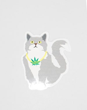 Enjoi Weed Cat Sticker