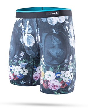 Stance Flora Class Poly Blend Boxers - Black