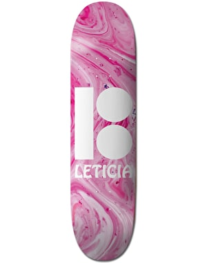 Plan B Leticia Wavy BLK ICE Skateboard Deck - 8
