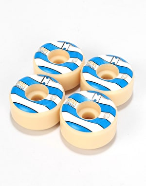 Spitfire Oski Stripes Formula Four Conical 99d Skateboard Wheel - 54mm