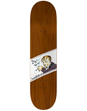 Krooked Smoking Skateboard Deck - 8.25
