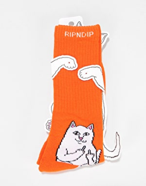 RIPNDIP Lord Nermal Socks  - Orange