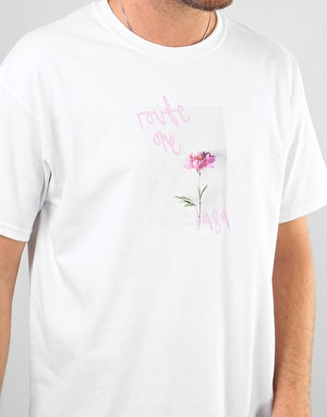 Route One Chrysanths T-Shirt - White