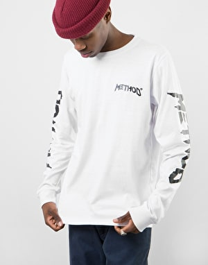 Method Logo L/S T-Shirt - White