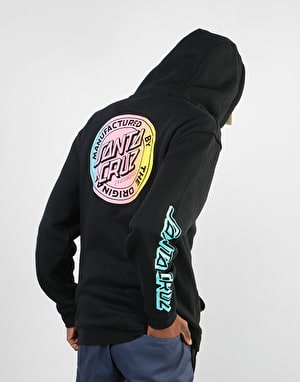 Santa Cruz MFG Dot Fade Pullover Hoodie - Black