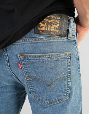 Levi's Skateboarding 511® Slim 5 Pocket Jeans - S&E Hack