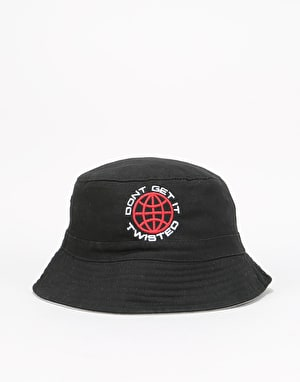 Handy Don't Get It Twisted Bucket Hat - Black