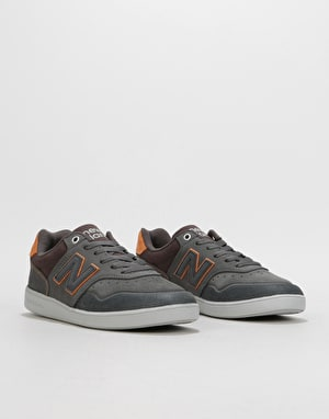 New Balance Numeric 288 Skate Shoes - Grey/Rust