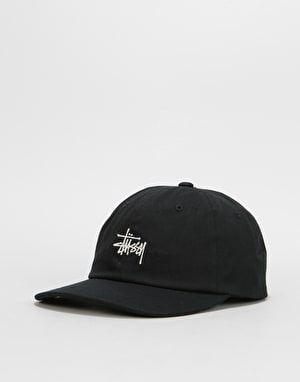 Stüssy Stock Low Pro Cap - Black