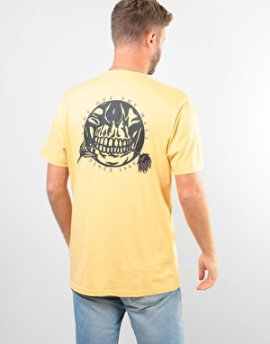 Vans Pushing Up Daisies T-Shirt - New Wheat