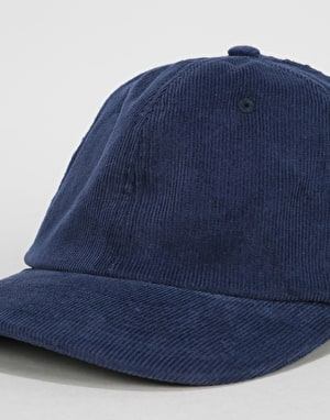 Route One Vintage Cord Dad Cap - Oxford Navy