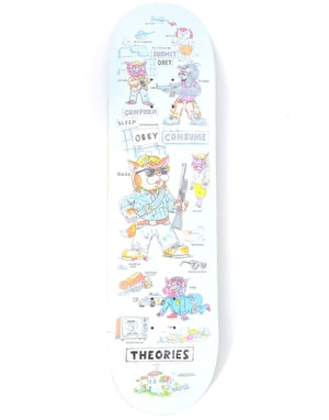 Theories Nada Skateboard Deck - 8.25