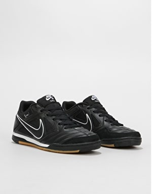 Nike SB Gato Skate Shoes - Black/Black-White-Gum Light Brown