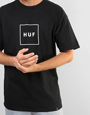 HUF Box Logo T-Shirt - Black