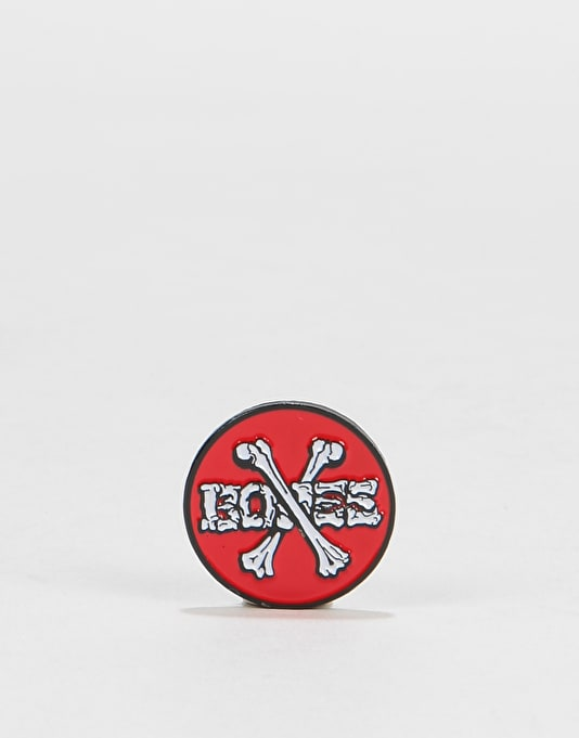 Powell Peralta Cross Bones Lapel Pin - Multi