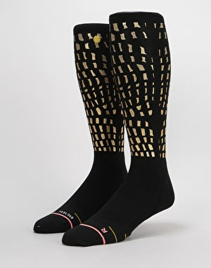 Stance Lux Lodge Backcountry Ultralight Snowboard Socks - Gold