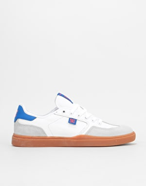 DC Vestrey Skate Shoes - White/Gum