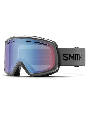 Smith Range 2019 Snowboard Goggles - Charcoal/Blue Sensor Mirror