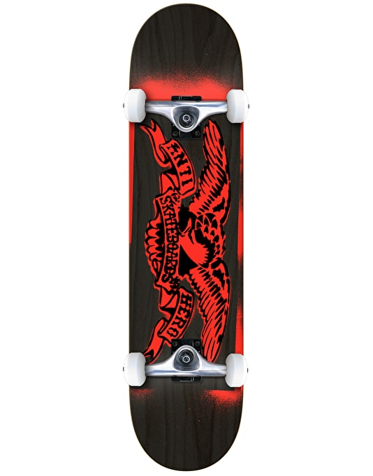 Anti Hero Stencil Eagle Complete Skateboard - 7.75""