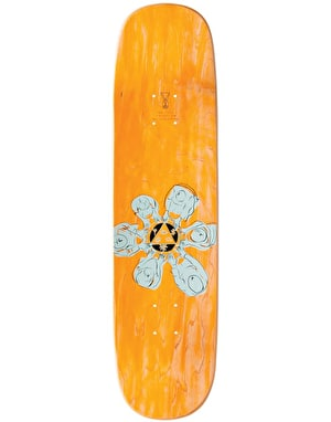 Welcome Sloth on Amulet Skateboard Deck - 8.125