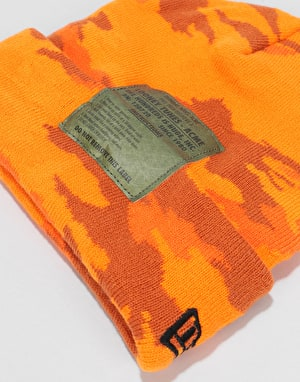 The Hundreds x Looney Tunes Label Beanie - Orange Camo