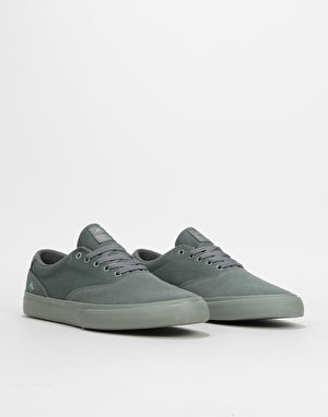 Emerica Provost Slim Vulc Skate Shoes - Grey/Grey